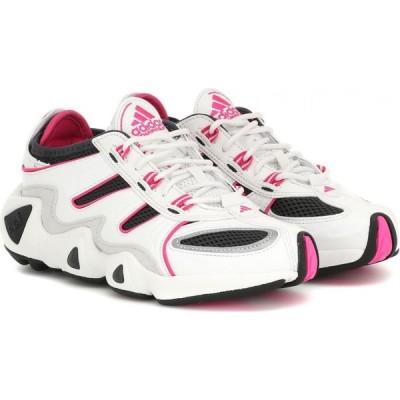 アディダス Adidas レディース スニーカー シューズ・靴 FYW S-97 leather sneakers Crystal white/Shopnk