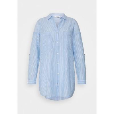 ビーヤング シャツ レディース トップス BYFIE STRIPE - Button-down blouse - marina mix