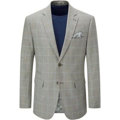 スコープス Skopes メンズ ジャケット アウター Lazarri Linen Cotton Blend Jacket Sage