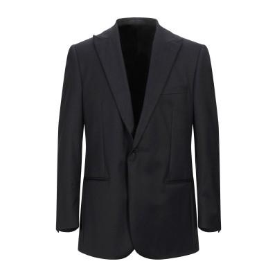 LUBIAM テーラードジャケット 鉛色 52 バージンウール 100% テーラードジャケット