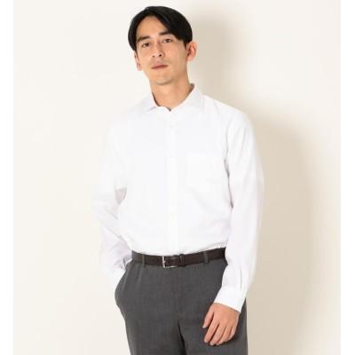 【シップス/SHIPS】 【MonoMax 6月号 p.53掲載】SHIPS any: COOLMAX セミワイドカラー ドレス対応 シャツ