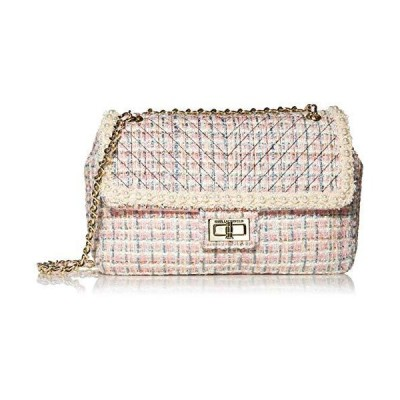 Karl Lagerfeld Paris womens Agyness Large Convertible Shoulder Bag, Candy W/Petal Trim, One Size US【並行輸入品】