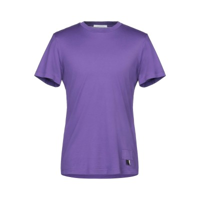 LOW BRAND T シャツ パープル 1 コットン 100% T シャツ