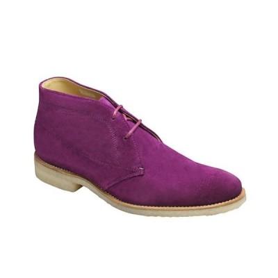 リーガル/ブーツ チャッカーブーツ/51GR パープルスエード/牛革スエード/メンズ 靴