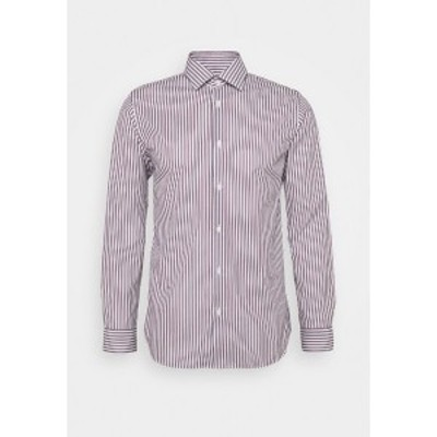 セレクテッドオム メンズ シャツ トップス SLHREGPEN-TED SHIRT STRIPES - Shirt - bright white bright white