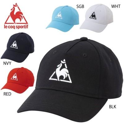 le coq sportif QMBPJC23 メンズコットンキャップ 帽子 マルチトレーニング ルコックスポルティフ 2020春夏 【取り寄せ】