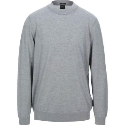 ヒューゴ ボス BOSS HUGO BOSS メンズ ニット・セーター トップス sweater Light grey