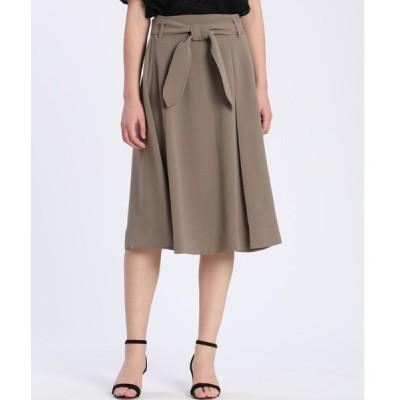 スカート 《Maglie par ef-de》サッシュベルトスカート