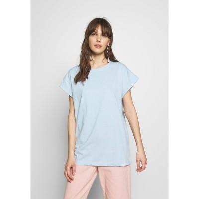 モス コペンハーゲン Tシャツ レディース トップス ALVA PLAIN TEE - Basic T-shirt - cashmere blue