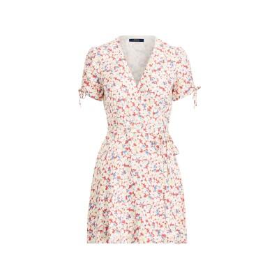 POLO RALPH LAUREN ミニワンピース&ドレス ホワイト 6 レーヨン 100% ミニワンピース&ドレス