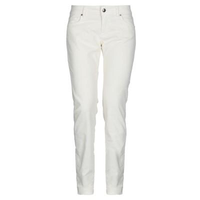 ロイ ロジャース ROŸ ROGER'S パンツ ホワイト 24 コットン 98% / ポリウレタン 2% パンツ