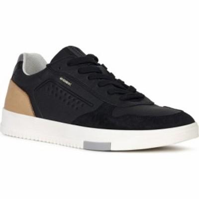 ジェオックス GEOX メンズ スニーカー シューズ・靴 Segnale Sneaker Black/Cognac