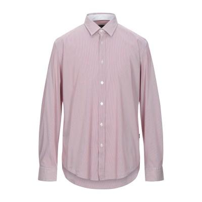 BOSS HUGO BOSS シャツ レッド S コットン 75% / ナイロン 20% / ポリウレタン 5% シャツ
