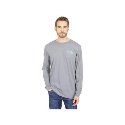 ザ・ノースフェイス Long Sleeve TNF Sleeve Hit T-Shirt メンズ シャツ トップス TNF Medium Grey Heather