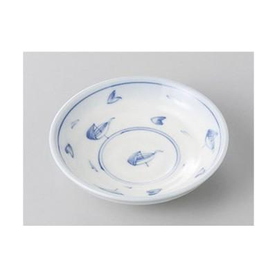 小皿 笹舟3.0深皿 [9.5 x 2.4cm]  料亭 旅館 和食器 飲食店 業務用