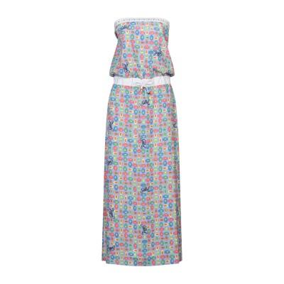 EAN 13 ロングワンピース&ドレス ライラック 48 コットン 100% ロングワンピース&ドレス