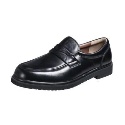 モーガンクイーン424ブラック5Eの超幅広カジュアルシューズMORGAN QUINNシープ革使用紳士靴