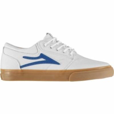 ラカイ Lakai メンズ スニーカー シューズ・靴 Griffin Canvas White WHTEC