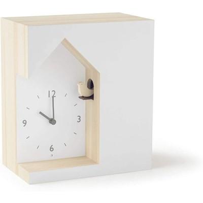 レムノス 置き時計 アナログ カッコー cuckoo-collection dent デント NL19-03 Lemnos 19.7×13.7×22.