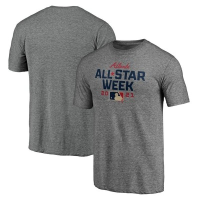 Fanatics Branded 2021 MLB All-Star Week Tri-Blend T-シャツ - Heather Gray