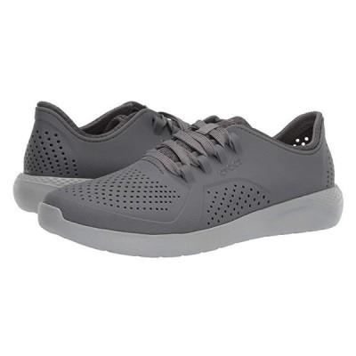 クロックス LiteRide Pacer メンズ スニーカー 靴 シューズ Charcoal/Light Grey