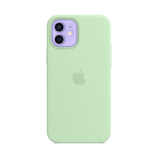 iPhone 12 | 12 Pro MagSafe 矽膠保護殼 - 開心果綠色