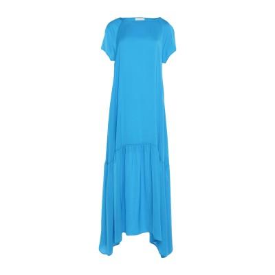 ゴータ GOTHA ロングワンピース&ドレス アジュールブルー 40 ポリエステル 100% ロングワンピース&ドレス