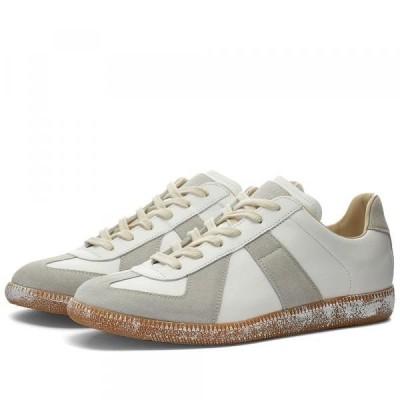 メゾンマルジェラ スニーカー シューズ 高級 メンズMaison Margiela 22 Painted Sole Vintage Replica SneakerOff White