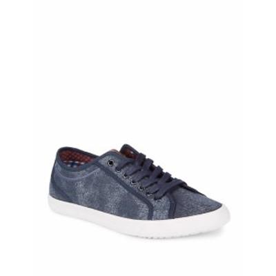 ベンシャーマン メンズ スニーカー Connall Low-Top Sneakers