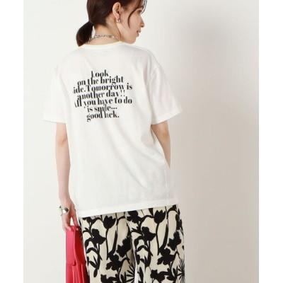 tシャツ Tシャツ 【FLAVOR TEE/フレーバーティ】WEB限定 GOOD LUCK Tシャツ
