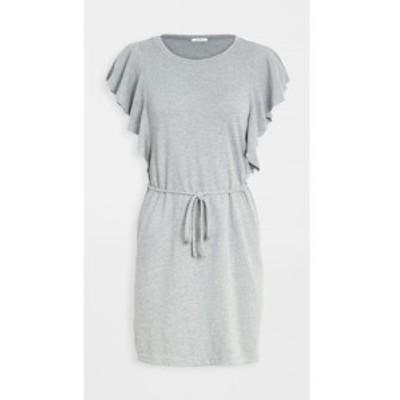 ゼットサプライ Z Supply レディース ワンピース ワンピース・ドレス capri ruffle dress Heather Grey