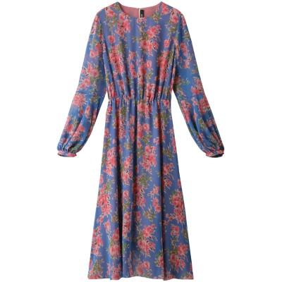 HELIOPOLE エリオポール 【POUSTOVIT】Long ドレス/ワンピース レディース ブルー 38
