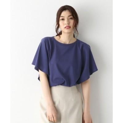 tシャツ Tシャツ リラックス美人フレアT5分袖/875994
