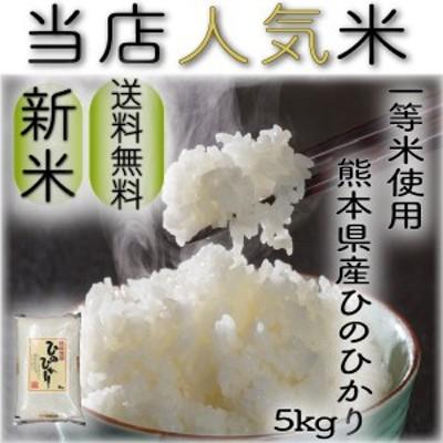 米 5kg 九州 熊本県産 ひのひかり 令和元年産 ヒノヒカリ あすつく 送料無料 精白米 一等米使用 くまもとのお米