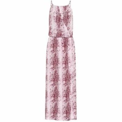 ハイジ クライン Heidi Klein レディース ワンピース マキシ丈 ワンピース・ドレス Monaco printed maxi dress Red/White