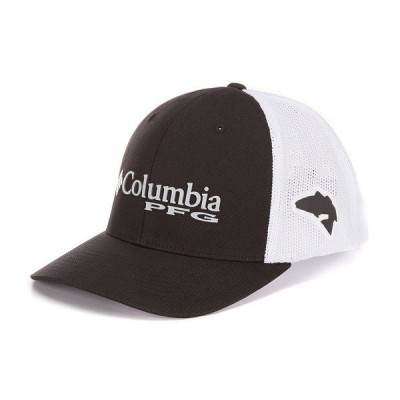 コロンビア メンズ 帽子 アクセサリー PFG Mesh Trucker Cap Black