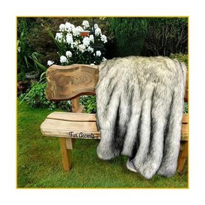 【☆送料無料☆新品・未使用品☆】Plush Faux Fur - Throw Blanket - Fashion Fur - King Bedspread - Shaggy - Shag - Fur Accents