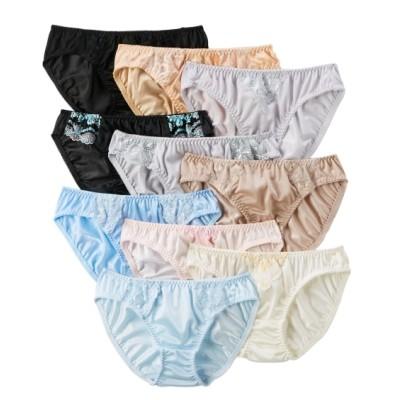 【WEB限定】【おまかせセット】トリコットショーツ10枚組(L) スタンダードショーツ, Panties