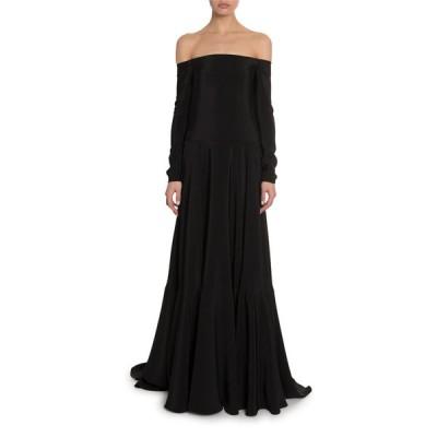 ヴァレンティノ レディース ワンピース トップス Off-the-Shoulder Cady Gown