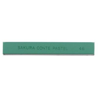 サクラクレパス コンテパステル単色はいみどり CTバラ#46 12個(直送品)