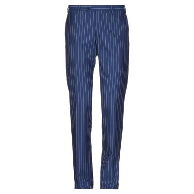 メッサジェリエ MESSAGERIE パンツ ブルー 46 レーヨン 100% パンツ