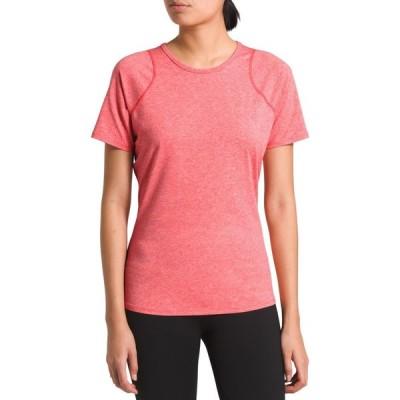ザ ノースフェイス The North Face レディース Tシャツ トップス Essential T-Shirt Cayenne Red Heather