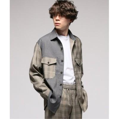 【エディフィス/EDIFICE】 CARREMAN / キャリーマン クレイジーCPOシャツ