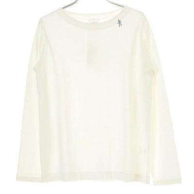 【期間限定値下げ】GRIN / グリン ワンポイント刺繍 長袖Tシャツ