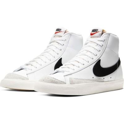 ナイキ NIKE レディース スニーカー ハイカット シューズ・靴 Blazer Mid '77 High Top Sneaker White/Black/Sail