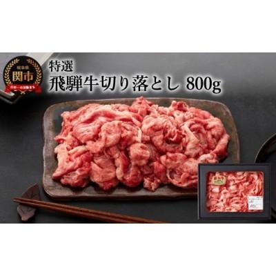 特選飛騨牛 【切り落とし】 800g (4等級以上・鮮度高い冷蔵) 【最長3か月以内に配送】 G12-01