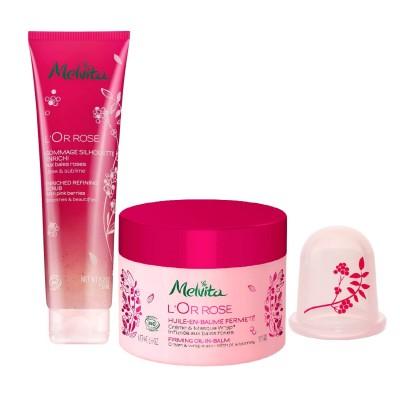 ピンクの肌熱バーム ボディケアセット(メルヴィータ)
