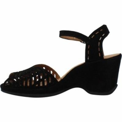 ラモールドピード LAmour Des Pieds レディース サンダル・ミュール シューズ・靴 Oanez Black Suede