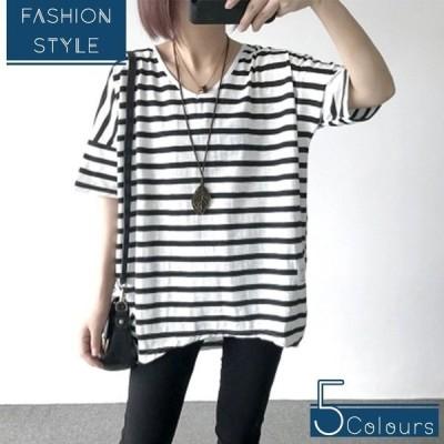 Tシャツ レディース 半袖 安い t-shirt tシャツ tシャツ シンプル 大きいサイズ レディース トップス カットソー