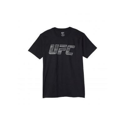 UFC UFC メンズ 男性用 ファッション Tシャツ UFC Hi-Density Texture T-Shirt - Black